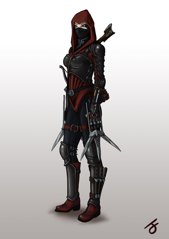 Zunarasha Assassin's Outfit by I-M-M-O on DeviantArt