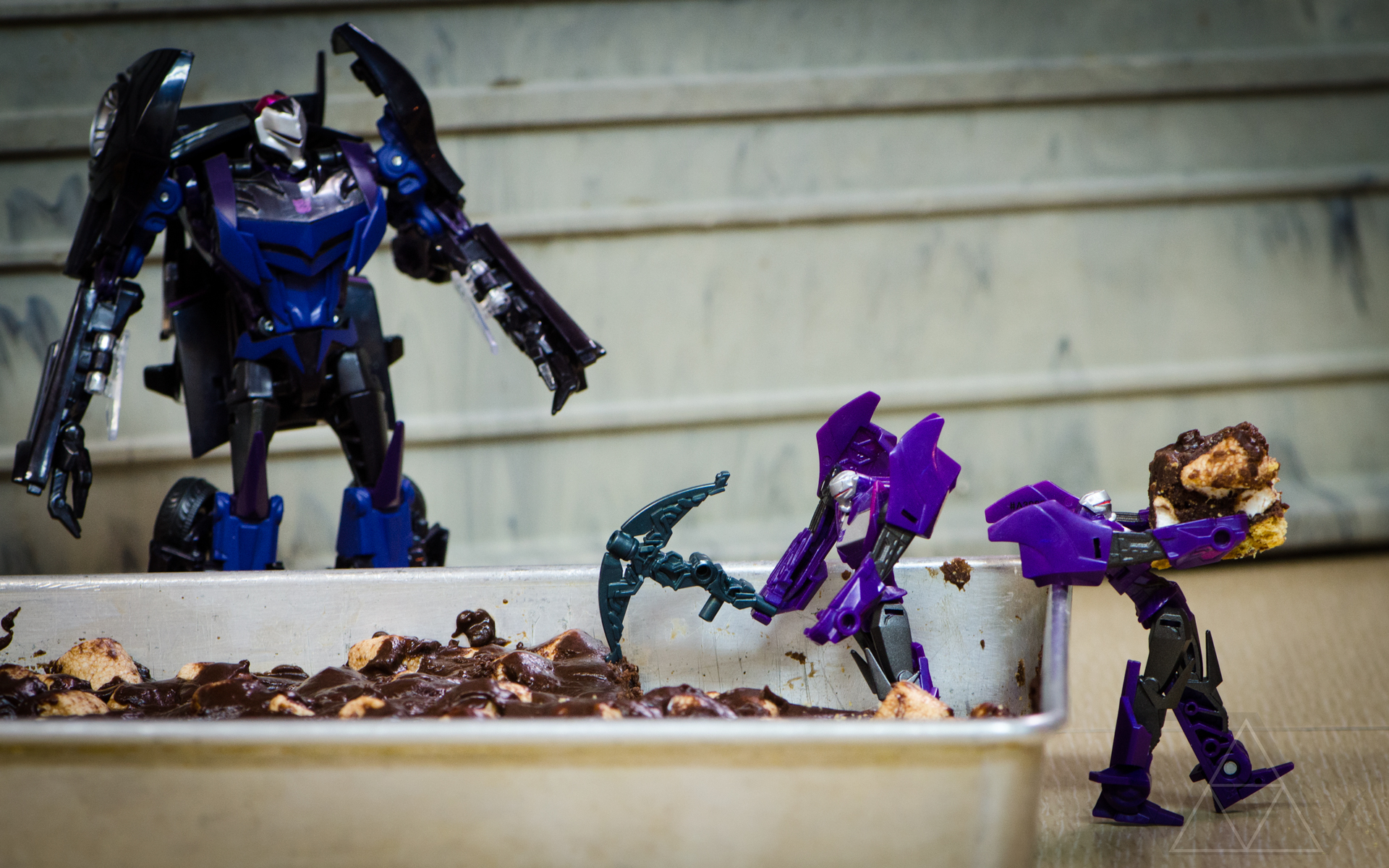 Transformer Prime - Mining for Lord Megatron by PlasticSparkPhotos