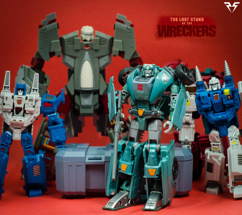 Wreckers Roll Call (Partial) by PlasticSparkPhotos