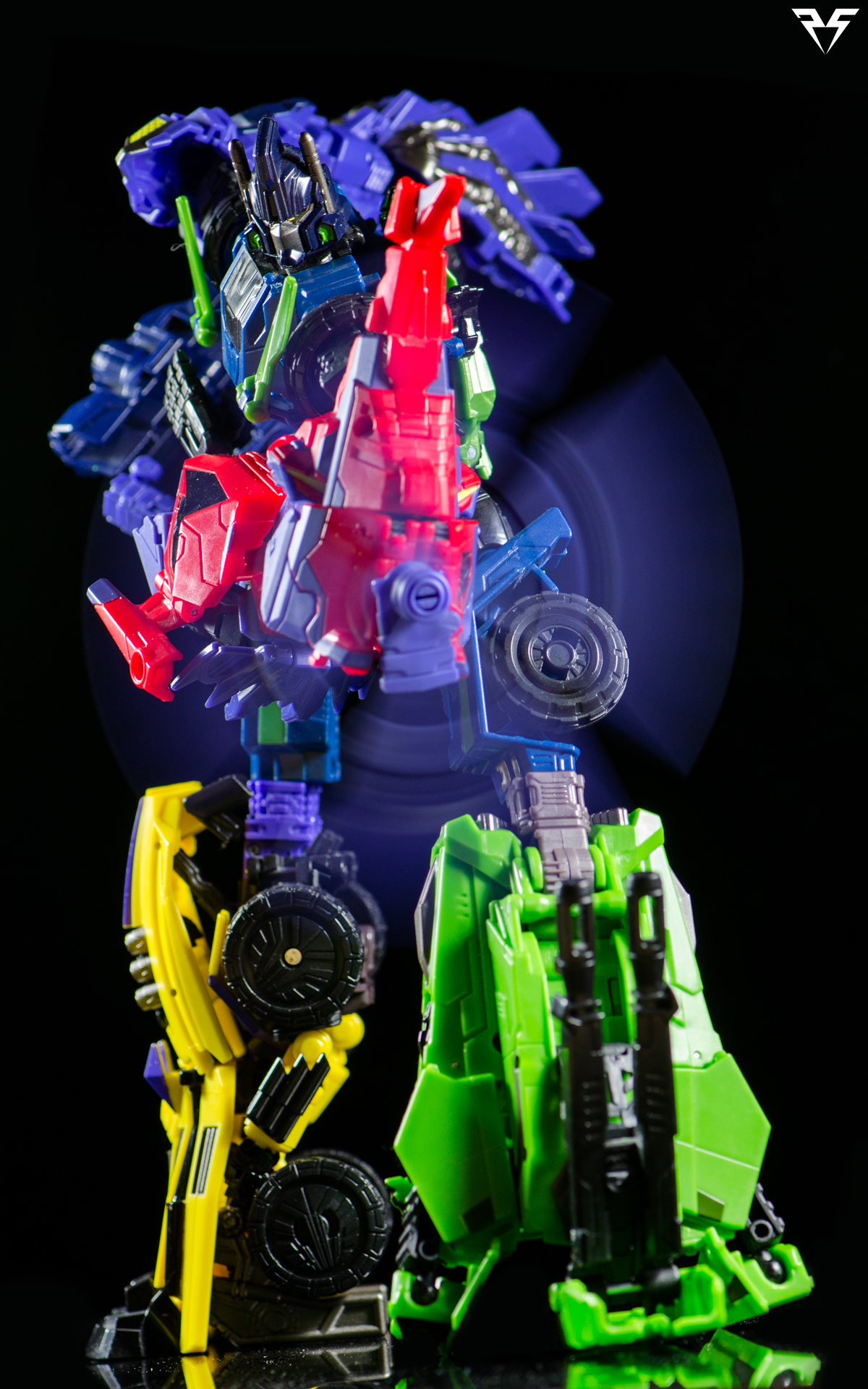 fall of cybertron bruticus by plasticsparkphotos on