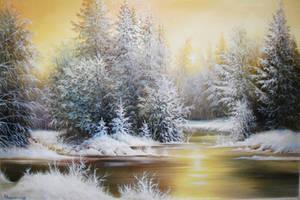 Winter melody by xxl333