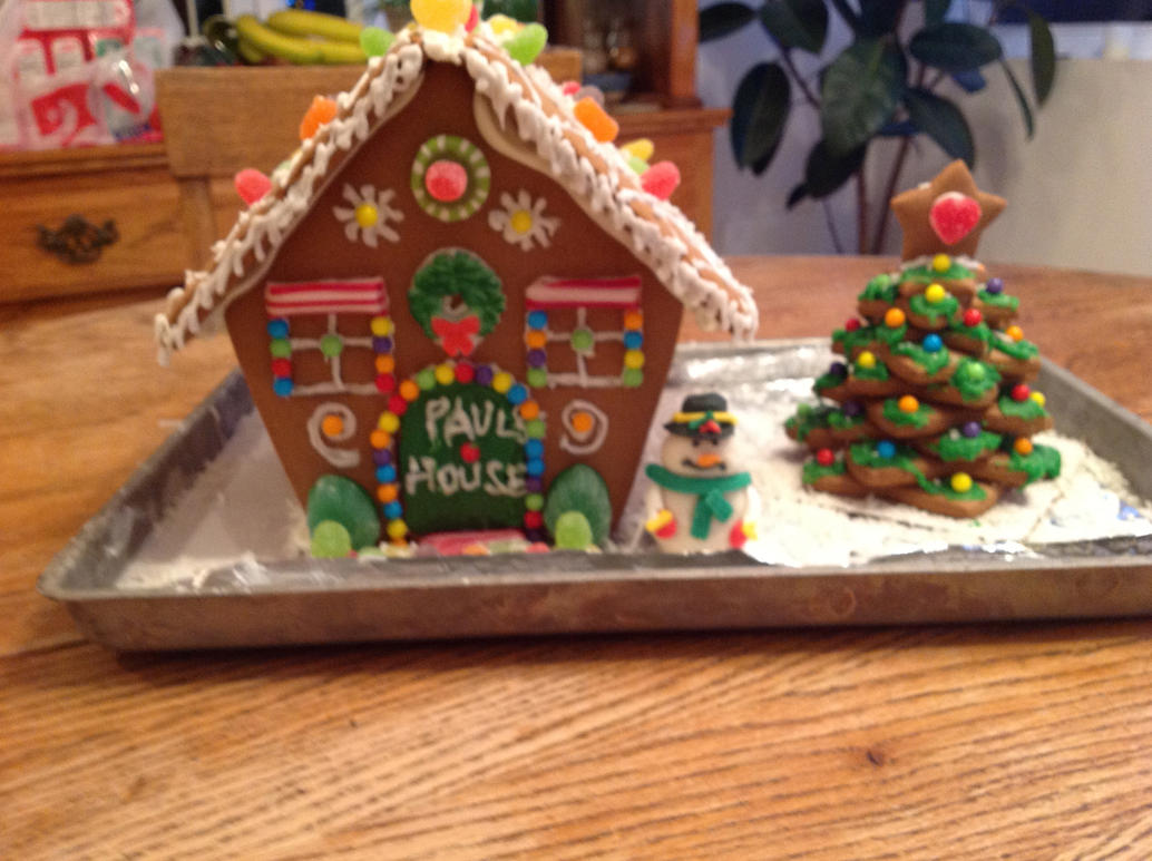 Paul 39 S Gingerbread House By Theherophase On Deviantart