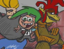 My Top 3 Cartoon/Animated Characters