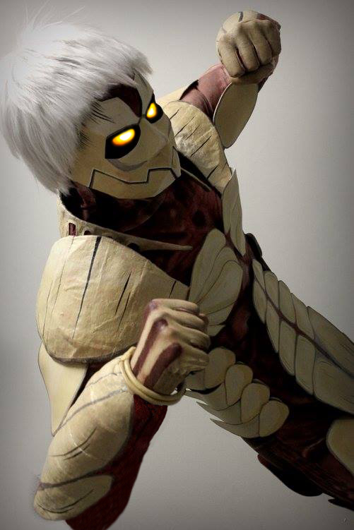 Armored Titan by WiredintoSpace