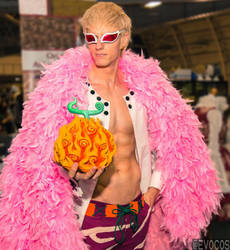 Ace your soul is mine! Donquixote Doflamingo by WiredintoSpace