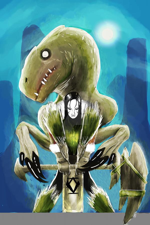 Den Protector and Deathmist RAPTOR by oshikuma