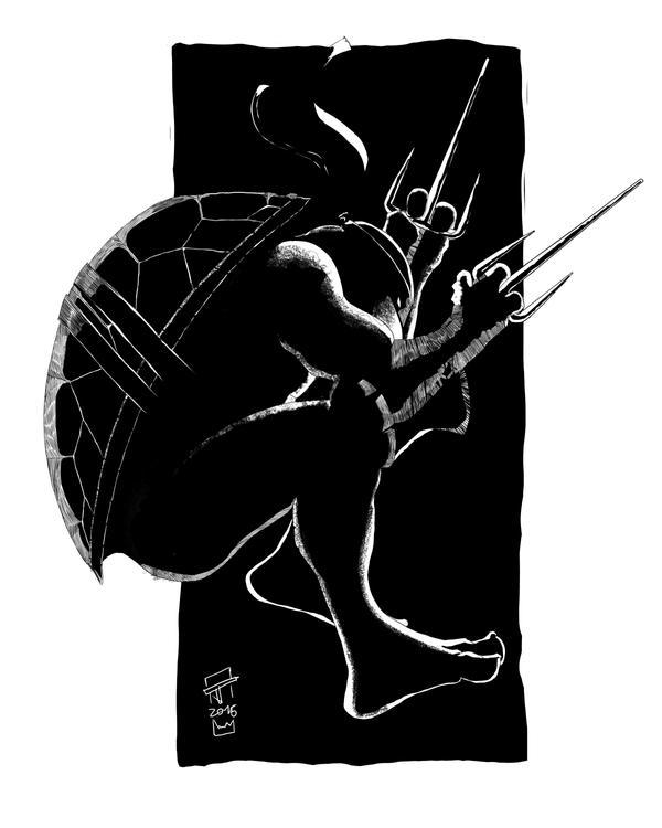 TMNT Raphael by oshikuma