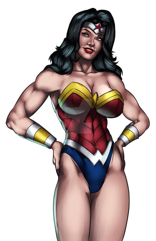 Colors Wonder Woman By Artoftheman On Deviantart