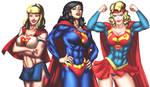 Commission : Supergirl 2