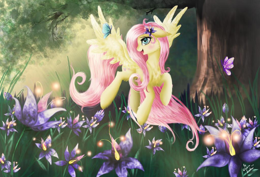 Fluttershy by Wilvarin-Liadon