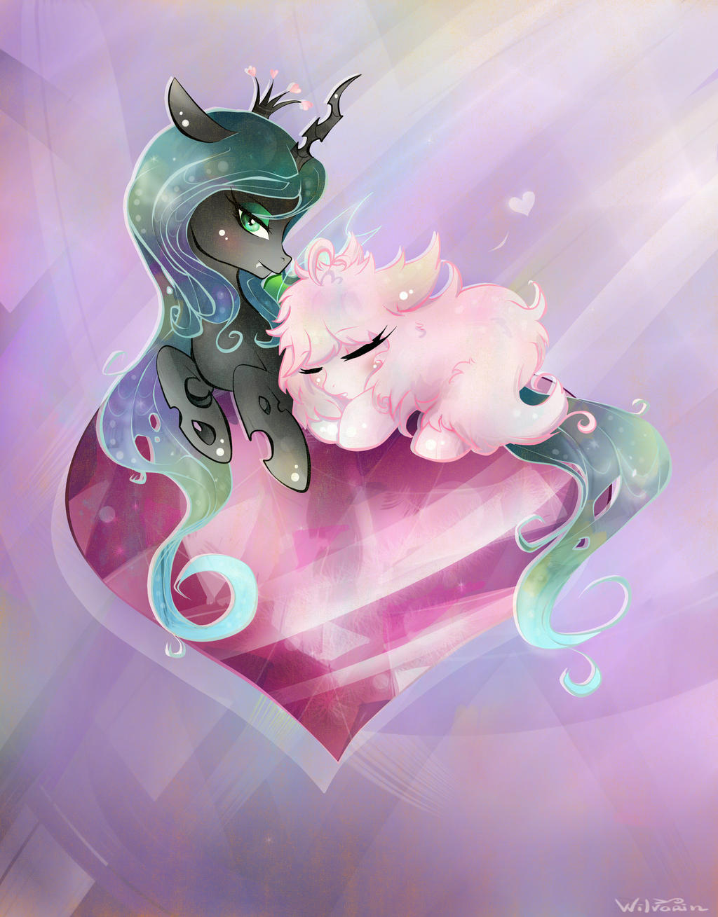 Fluffy Happiness by Wilvarin-Liadon