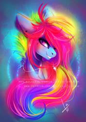 Rainbow Dash 20% cooler [with SpeedPaint] by Wilvarin-Liadon