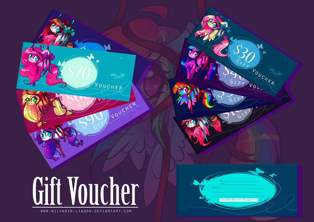 Gift Vouchers by Wilvarin-Liadon