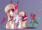 Winter Adoptable Auction: Fox Pony [CLOSED]