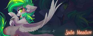 Commission Header: Jade Meadow