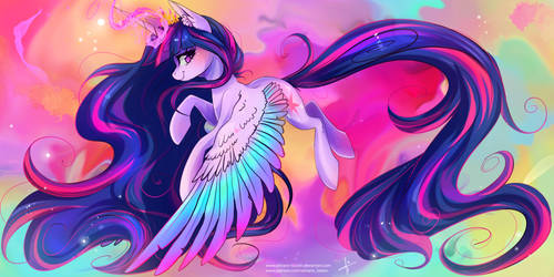 Princess Twilight Sparkle [redraw]