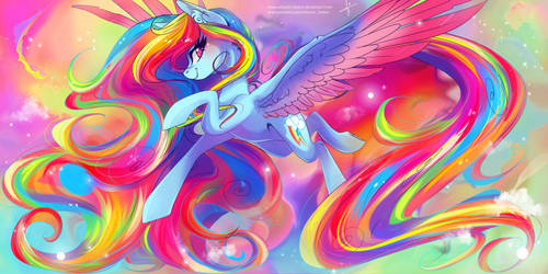 Rainbow Dash by Wilvarin-Liadon