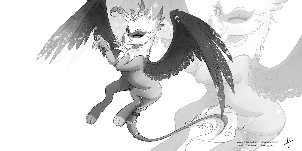 Swanlee Sketch by Wilvarin-Liadon