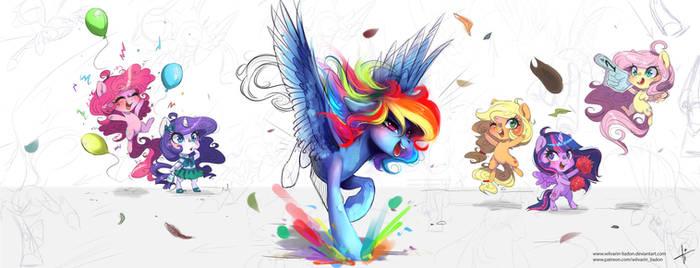 Color breakthrough
