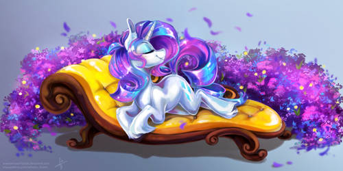 Beauty and Lavender by Wilvarin-Liadon