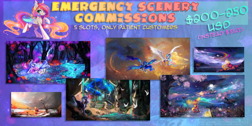 Emergency Scenery Commissions [0 slots]