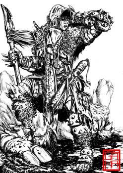 Post Apocalyptic Warrior Studies Commission 01