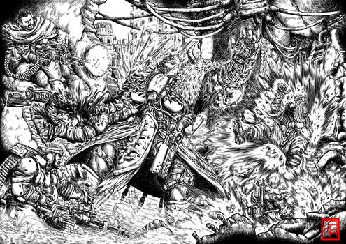 Post Apocalyptic Warrior Studies: Ambush