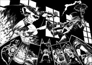 Weekly Page Exercises: Batman