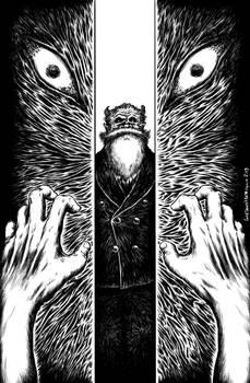 Illustrazione  'Racconti Crestati - In ascensore'