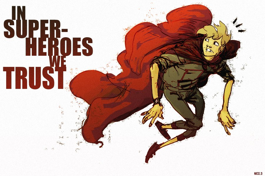 superheroes can save you by Nicolaaas
