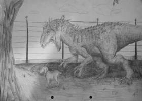 Indominus Rex [CONTEST ENTRY] by AlfaArtz