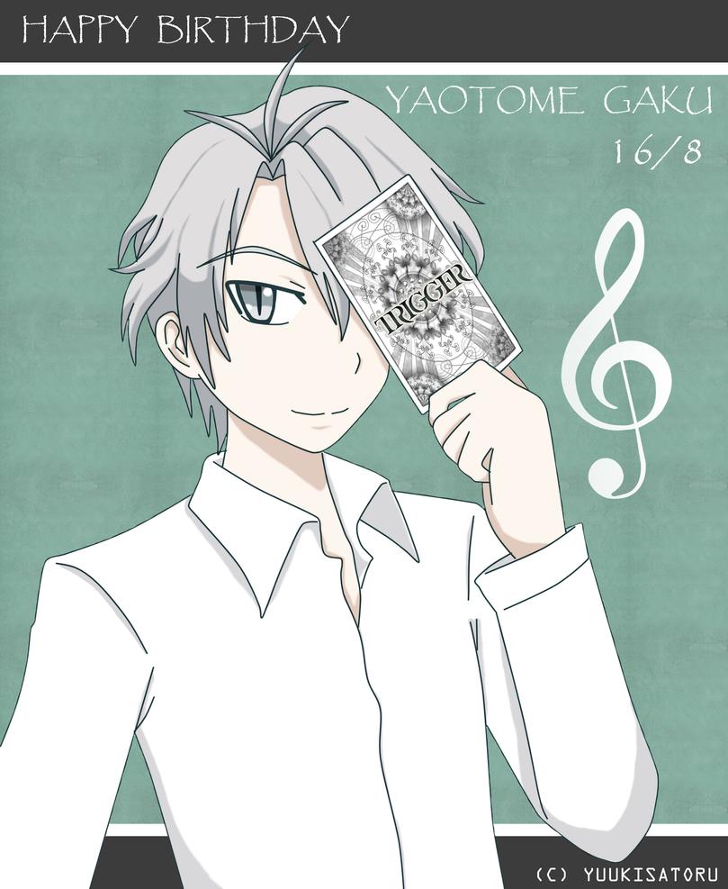 Happy Birthday Gaku! by satoru95