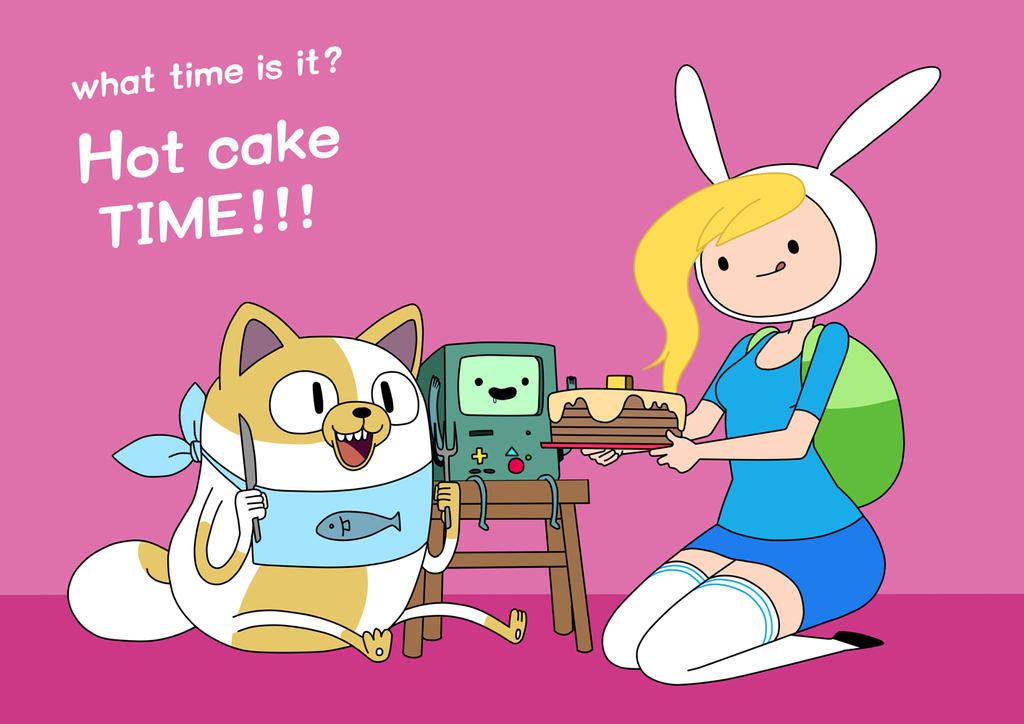 Adventure Time Fiona And Cake And Fiona