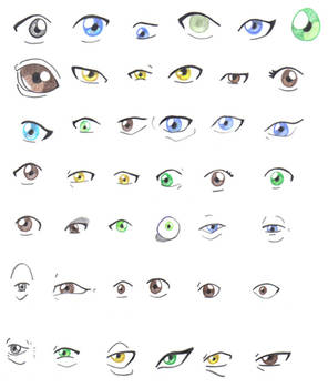 37. Avatar Eyes by CardcaptorKatara