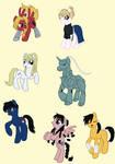 FMA Ponies