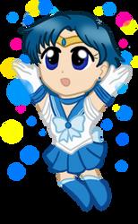 Chibi Sailor Mercury by CardcaptorKatara