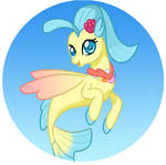 Button Design: Princess Skystar