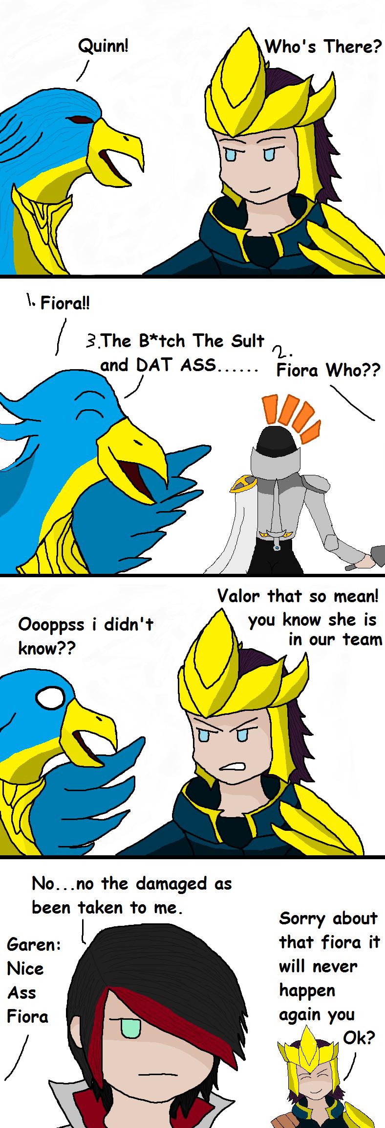 League of legends: Quinns and Valor Joke comics #2