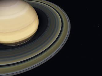 Saturn by EnglishBob