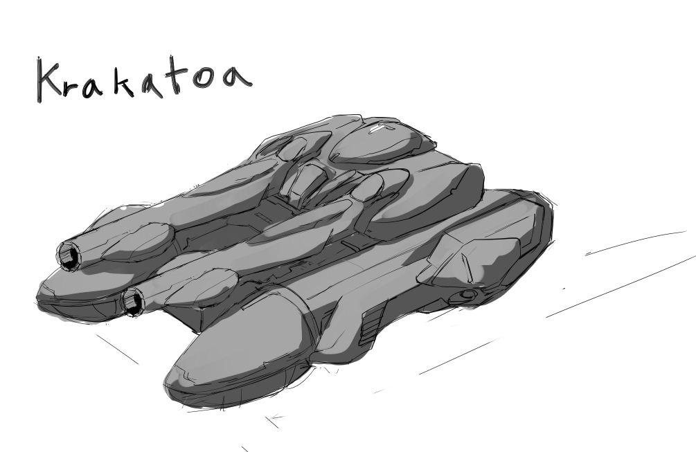 Krakatoa New concept art for kgilbert2 by pasunna-zacrifa on ...