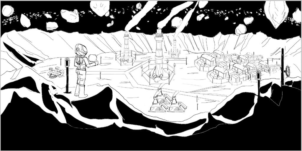 Bi@s Project BG land scape sketch by pasunna-zacrifa