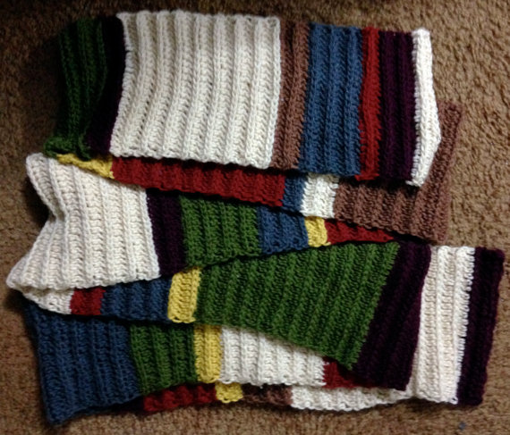 11 Foot Doctor Who Scarf By Weeaboo Warehouse On Deviantart