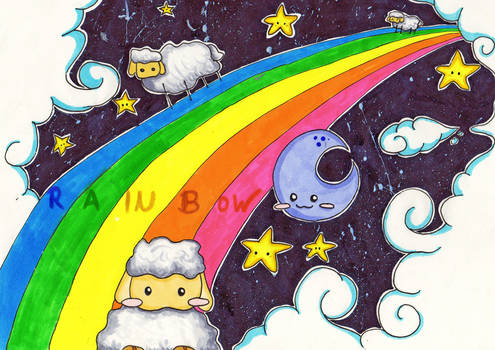 Sheeps over the Rainbow