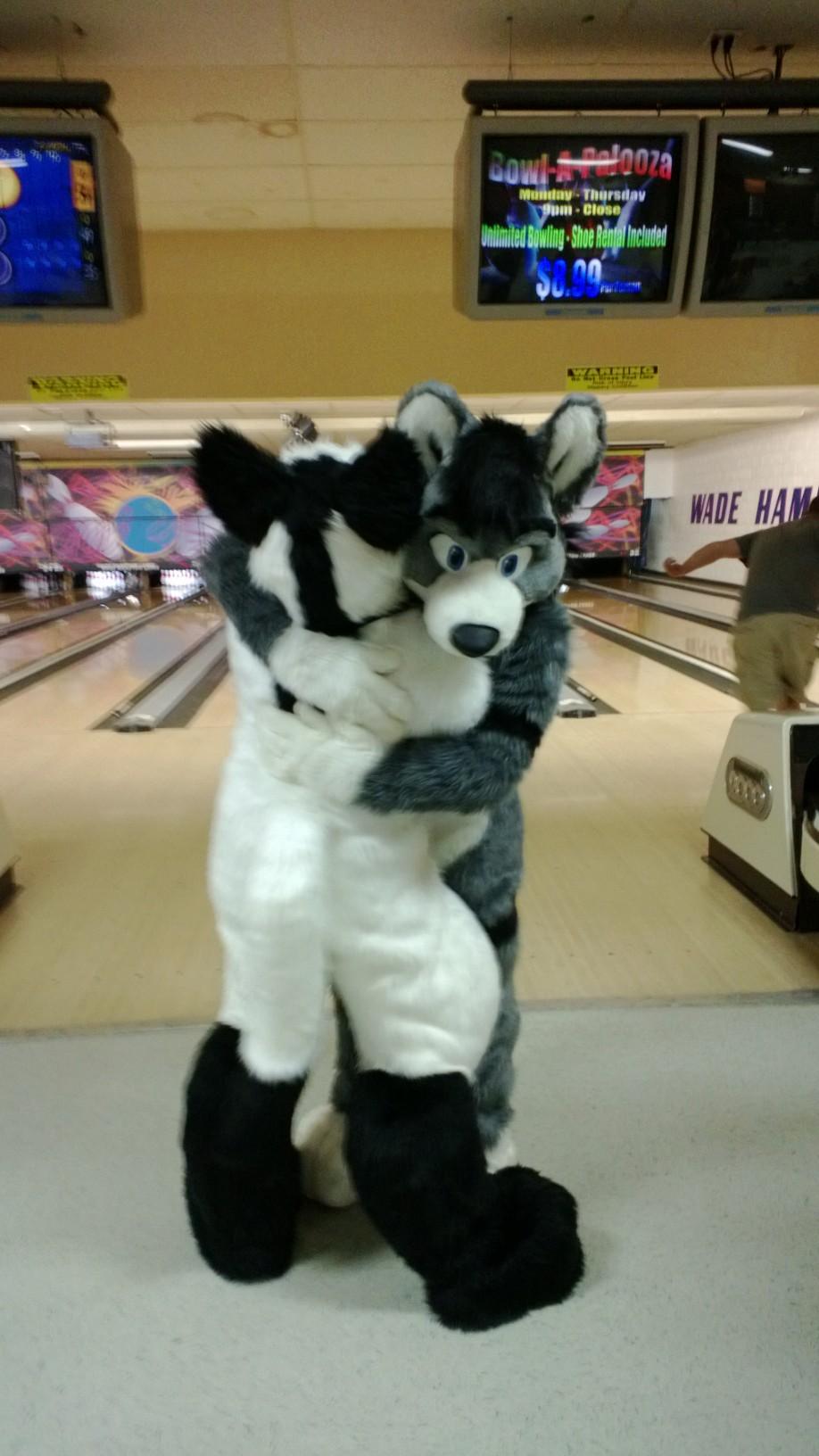 Bowling Hug by Angelwolf92