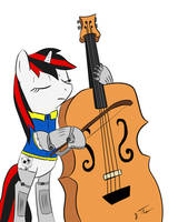 Blackjack with Octavia's Contrabass by cuttincows