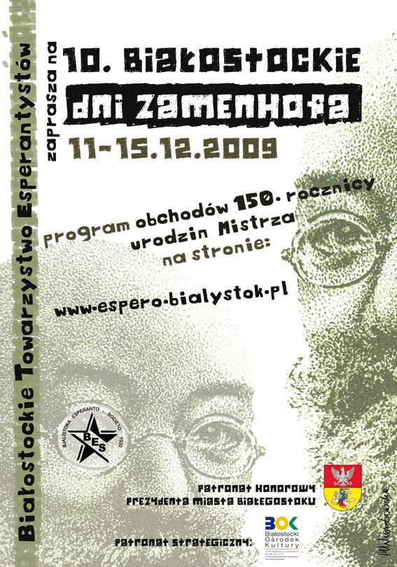 poster Zamenhof. by amashelikojn