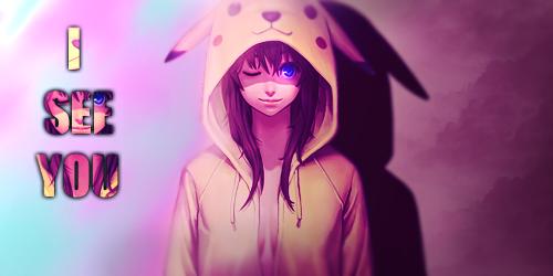 Pikachu Girl by FrayArtZ