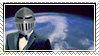 armoured skeptic stamp by zuniStamps