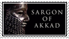 sargon of akkad stamp by zuniStamps