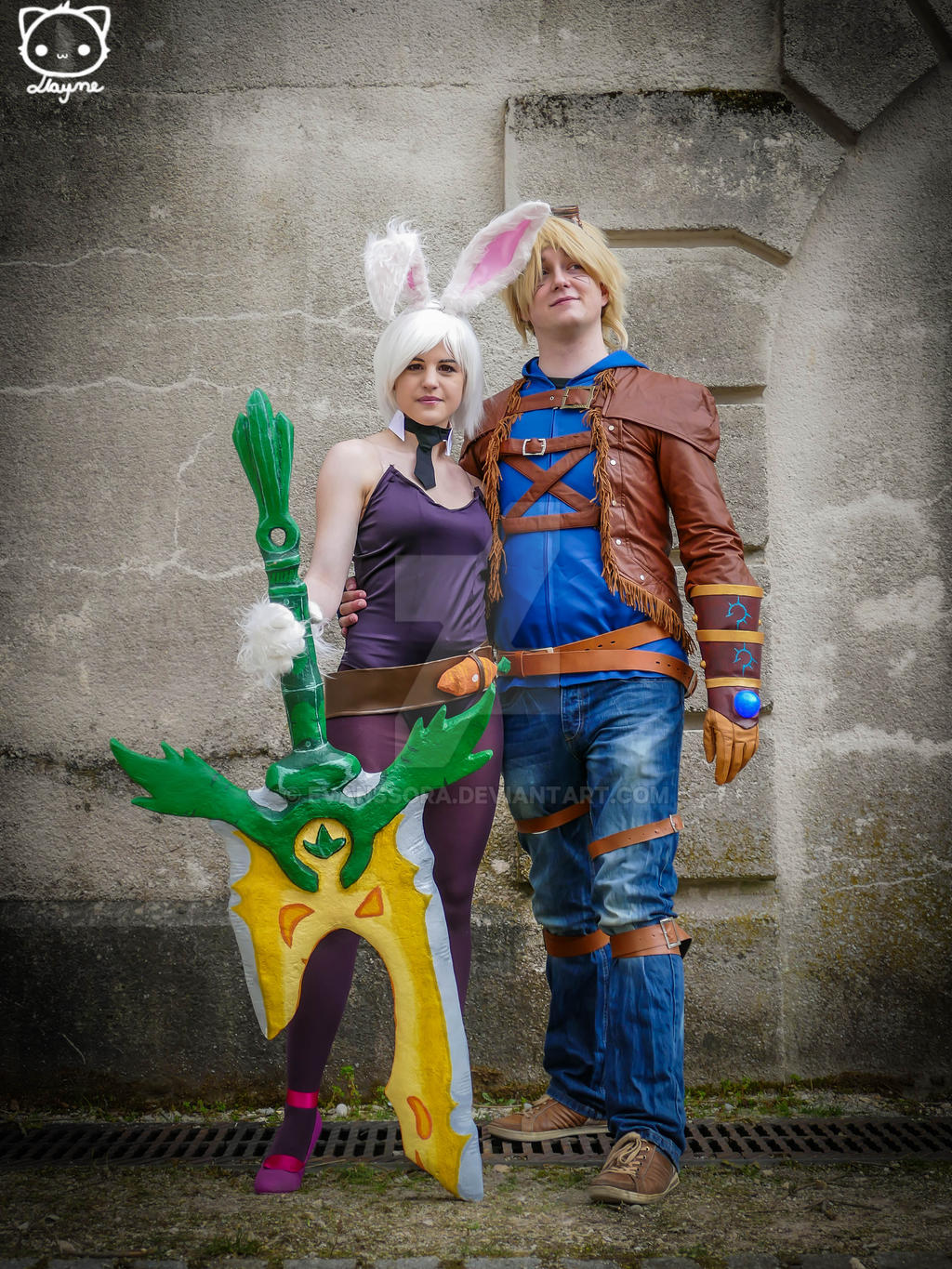 Riven and Ezreal - cosplay - League of Legends by ...
